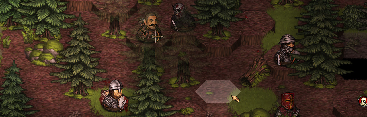 Battle brothers game - dark forest