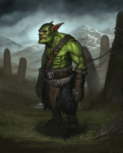 Young Orc Battle Brothers Concept Art Paul Taaks