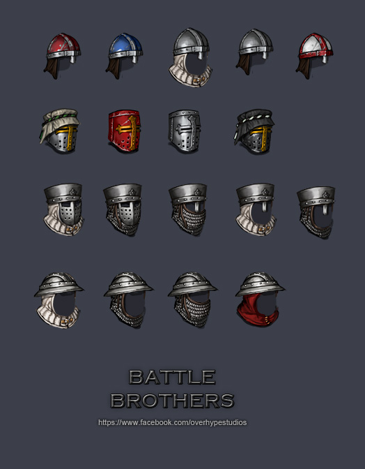 Helmet Variations