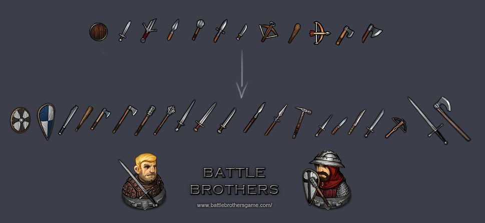 New Weapon icons