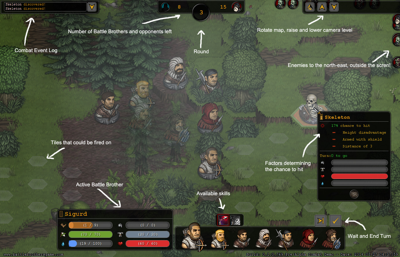 Battle Brothers - a turn based strategy RPG mix for PC, Mac