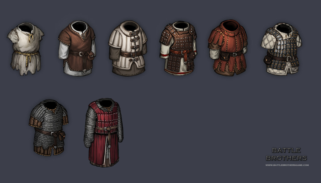 First batch of armors
