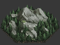 Mountains Forest