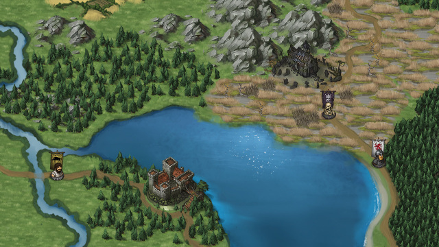 Self promo battle brothers a turn based strategy rpg the on the worldmap you can choose where to travel next in order to find places worth looting gumiabroncs Gallery