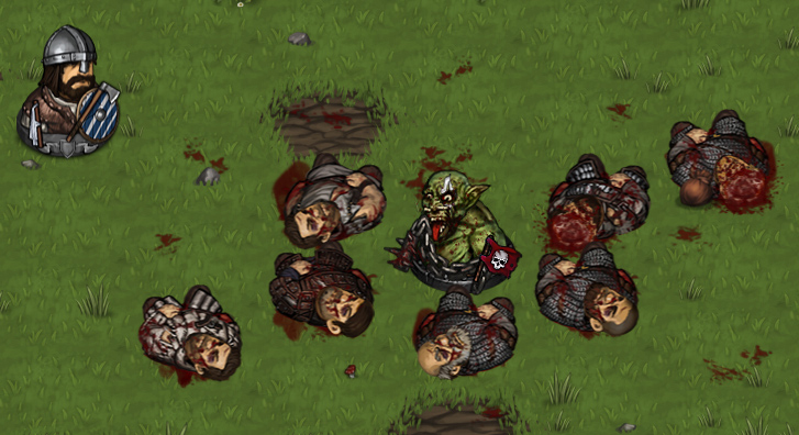 orc berserker chain battle brothers turn based strategy