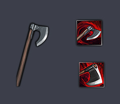 Battle Brothers weapon greataxe