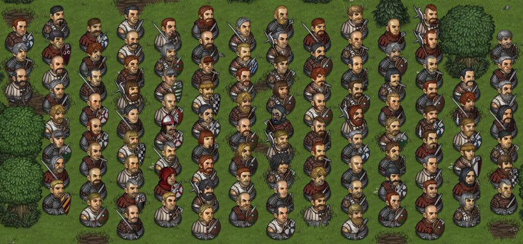 battle brohters character generation variety waldo