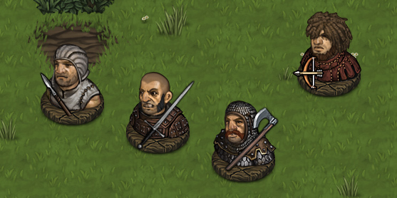 Bandits Battle Brotthers tactical rpg