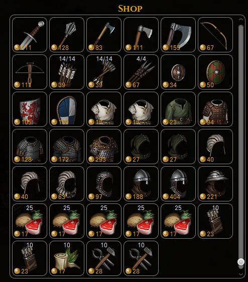 supplies shop battle brothers tactics rpg