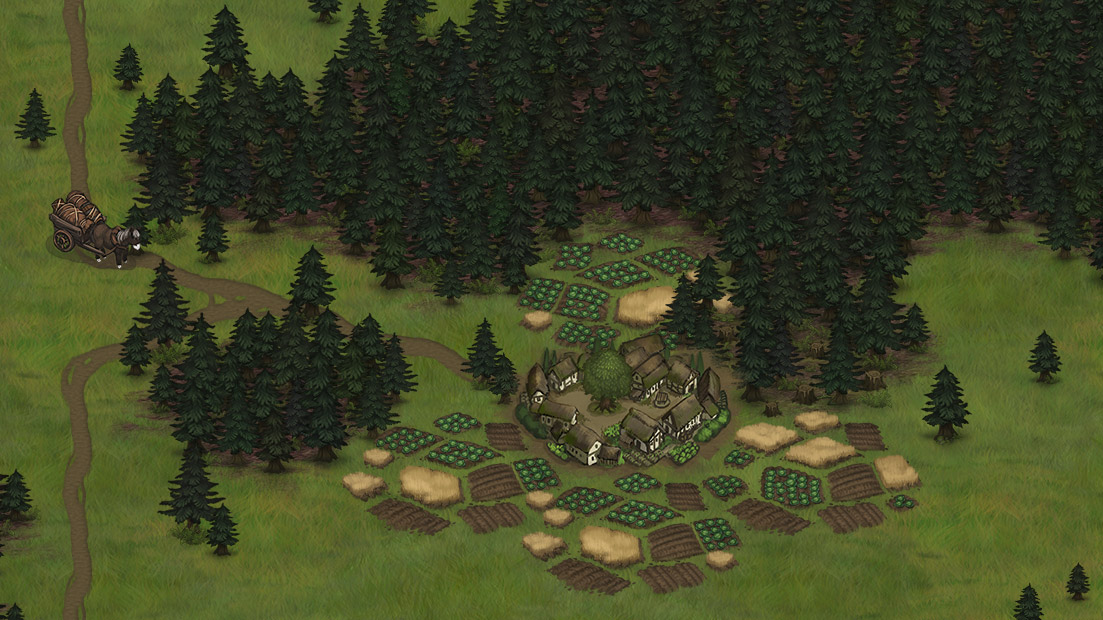 Strategic worldmap tactical rpg battle brothersbattle brothers here is an example to help you understand how the simulation works a village wants to trade with its neighboring village and gathers some of its resources gumiabroncs