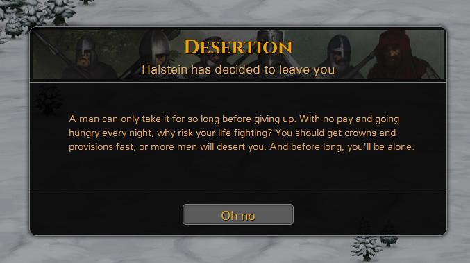 Desertion Screen Battle Brothers