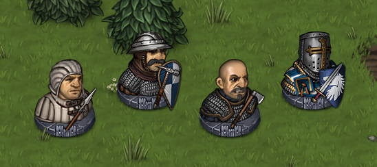 Men at arms faction battle brothers troops