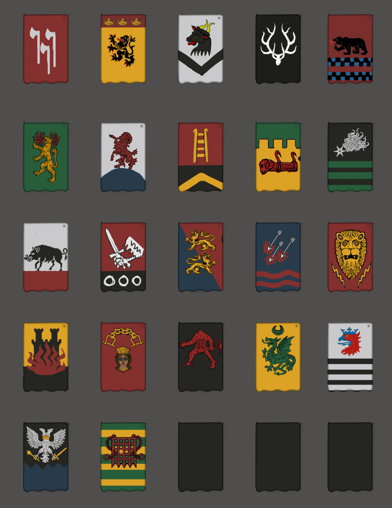 coats of arms battle brothers