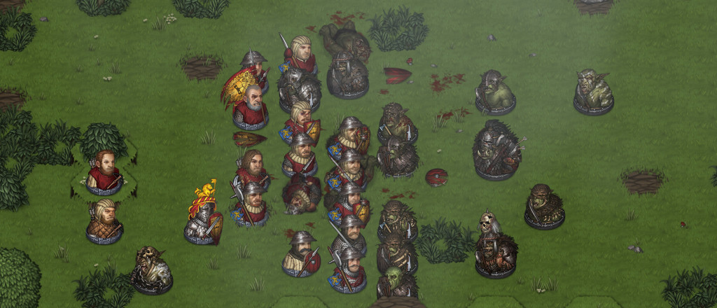 knights versus Orcs