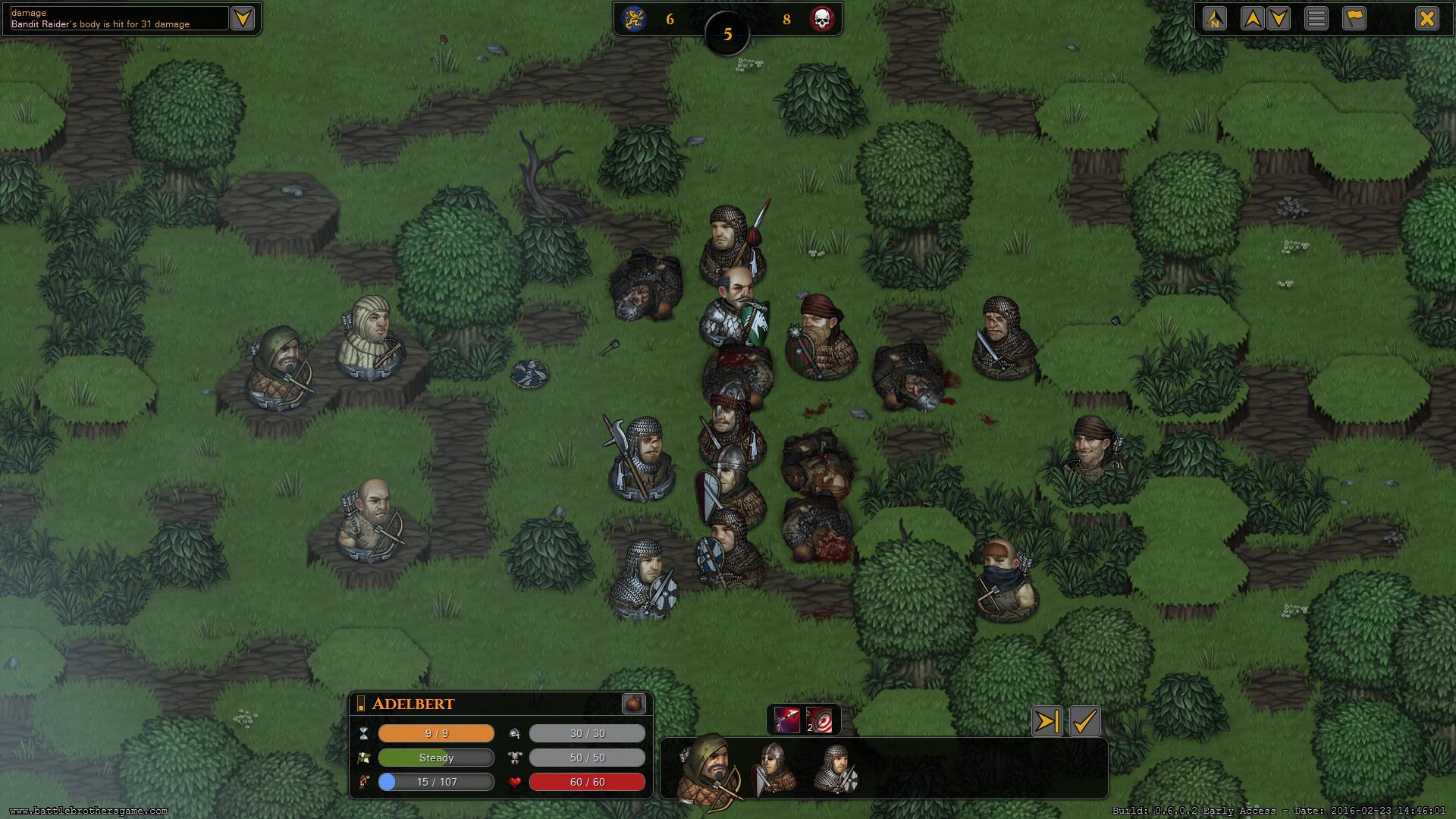 Battle Brothers - Squad Tactical Mercenaries Goodness