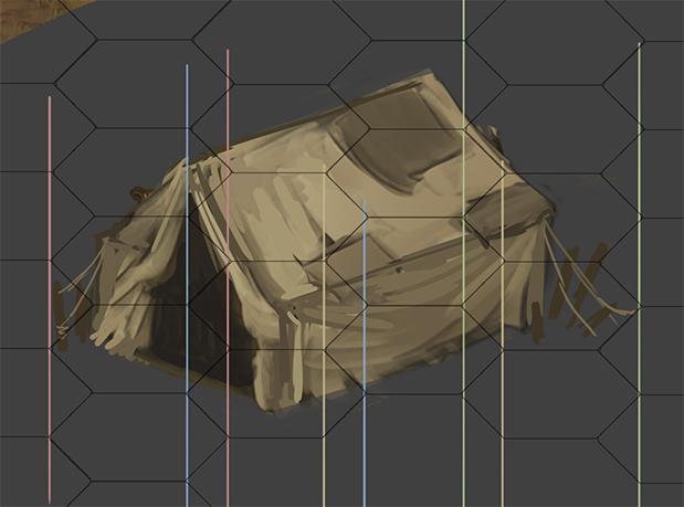 tent cuts