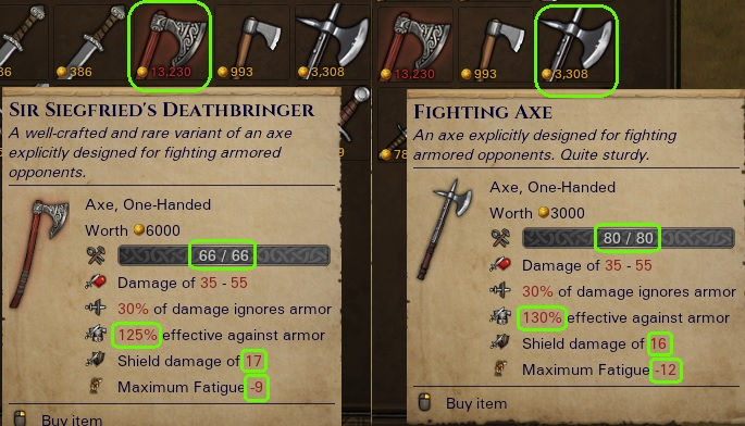 Rare Fighting Axe