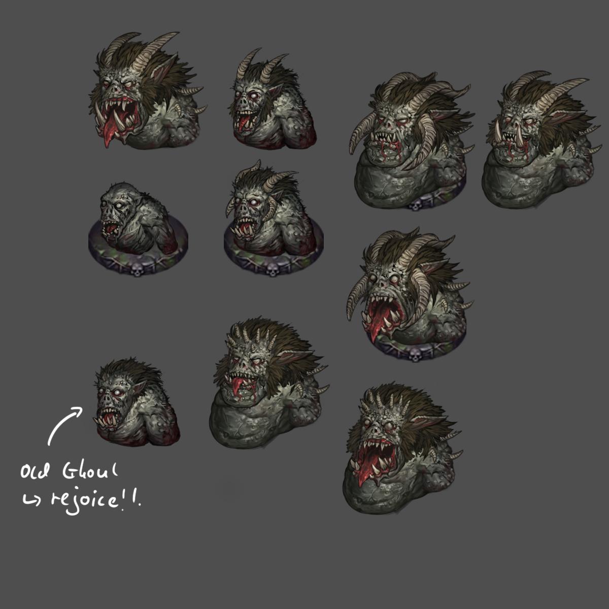 Ghoul variety