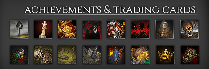 Dev Blog #93: Achievements & Trading Cards | Battle Brothers
