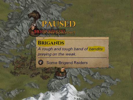 Brigands versus Bandits
