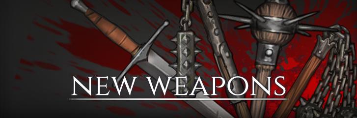 Dev Blog #101: New Weapons   Battle Brothers Developer Blog