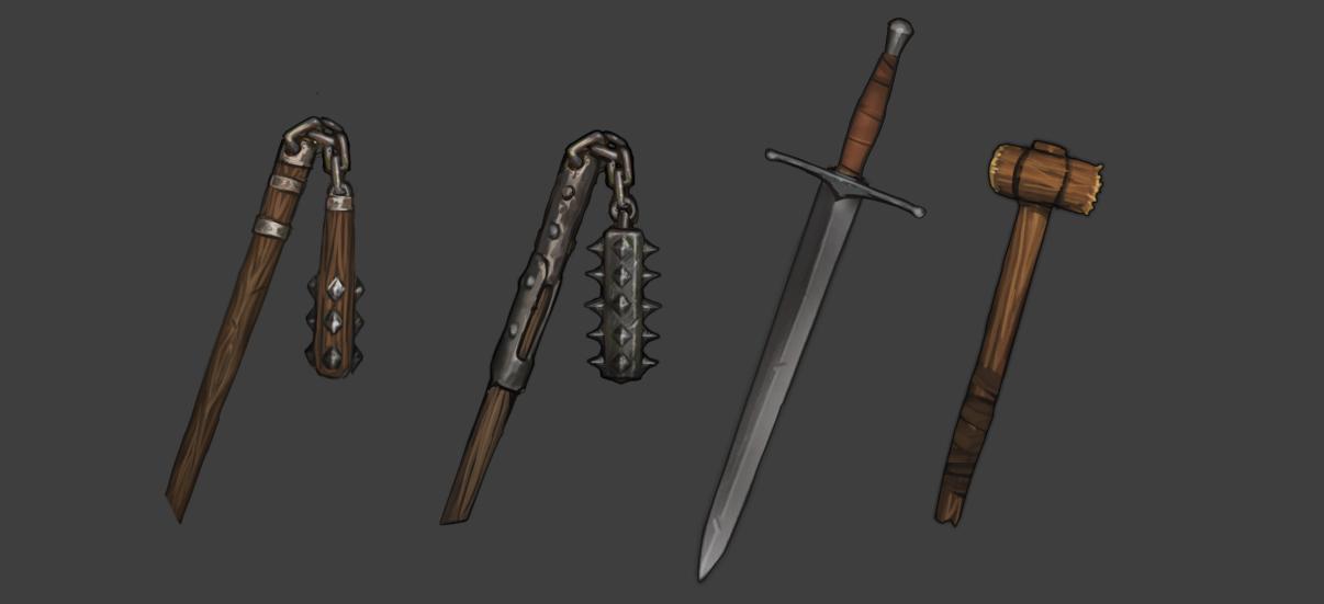 Dev Blog #101: New Weapons | Battle Brothers Developer Blog