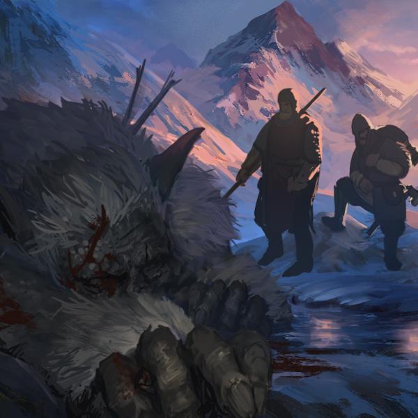 Unhold Slain